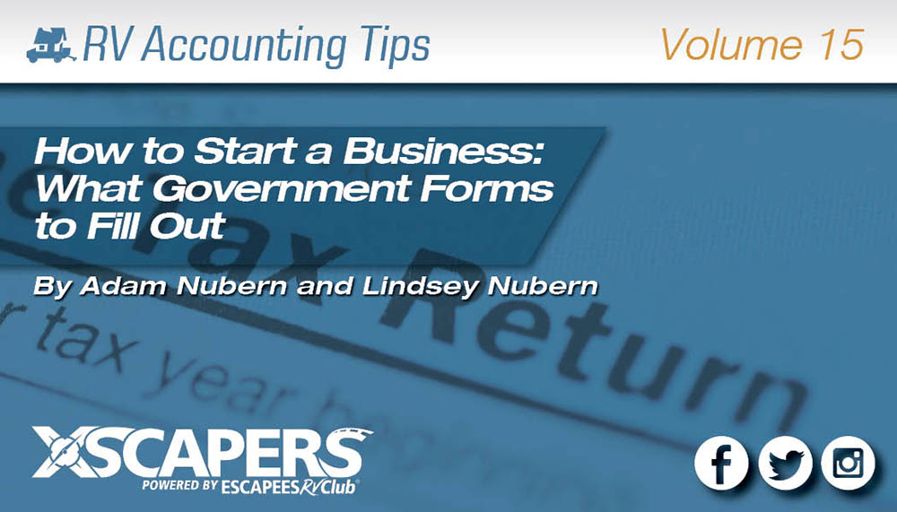 How to Start a Business: What Government Forms to Fill Out