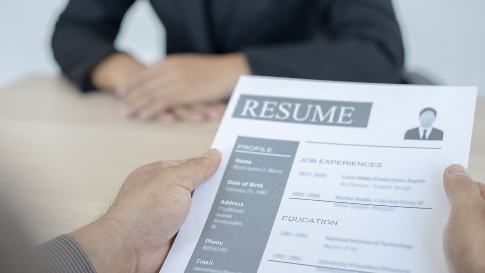 Updating your resume can help recruiters find you