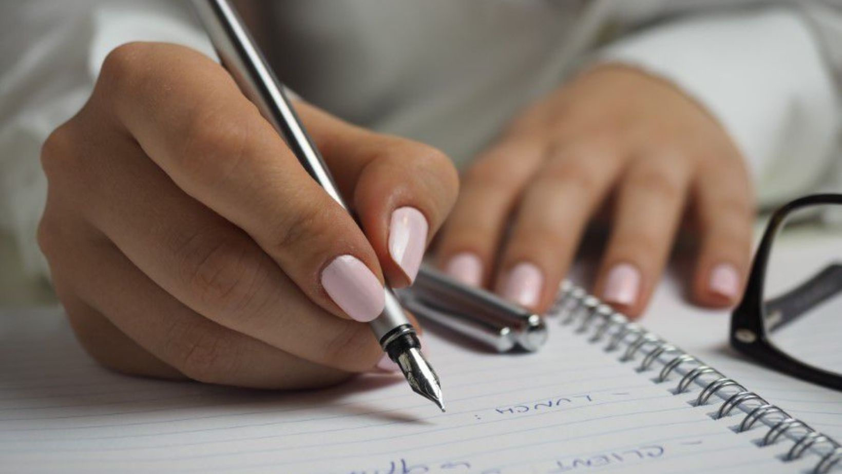 Writing down goals can help you stay on track